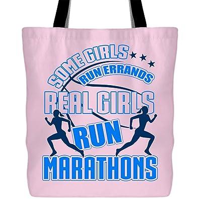 Amazon.com: Bolsas de maratón para niñas reales con asas ...