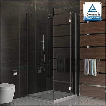 Cabina de ducha funshirt cabina de ducha de 80 x 200 cm Puerta ...