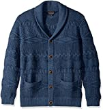 Pendleton Men's Palisade Sweater, Weathered Navy, MD