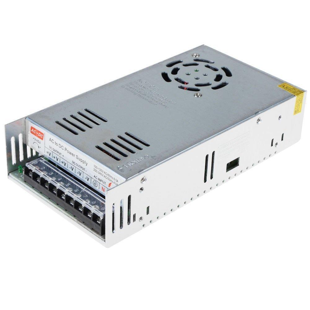 dalimentation /à d/écoupage transformateur convertisseur de dalimentation AC 110//220V DC 12V 30A 360W pour CCTV,Radio,Projet Informatique,lumi/ères LED 12V 30A Alimentation