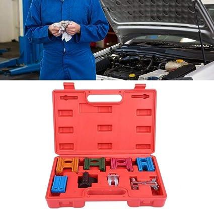 8 Piezas Herramientas de Reparación Sincronización de Automóviles Universal, Kit de Herramientas de Cronometraje de Correa de Motor, Herramienta de árbol de Levas, Bloqueo de Distribución: Amazon.es: Coche y moto