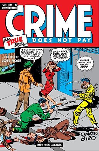 Dame Noir Halloween (Crime Does Not Pay Archives Volume 8 (Dark Horse)