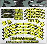 RaceFace Decal Kit for Arc 24 Rims and Aeffect SL 24 Wheels, Yellow