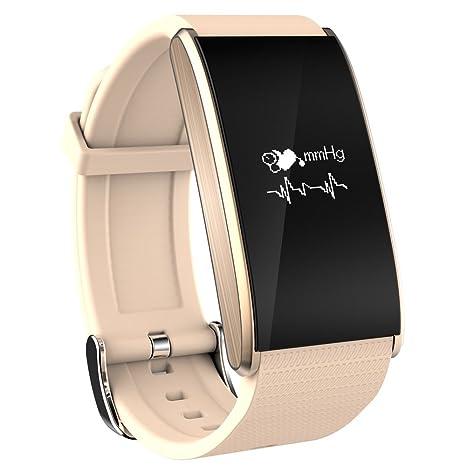 Cebbay Reloj Inteligente Reloj de Fitness con Podómetro Cronómetros Monitor de sueño,Podómetro,Calendario