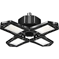 200W Garage Light, 20000LM Defoemable Beyond Bright Ceiling Light, 6000-6500K LED Ceiling Lights with 4 Adjustable…