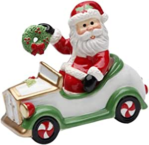 Cosmos Gifts 10663 Santa In Car Salt And Pepper Set 3 1 2 Inch Salt And Pepper Shaker Sets Kitchen Dining