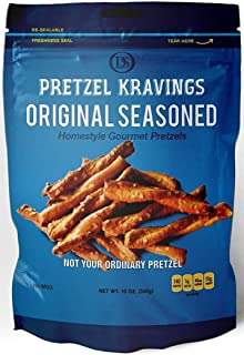 product image for Dakota Style Original Flavor Pretzel Kravings, Crunchy Snack Pretzels, 10 Ounce, 5 Pack