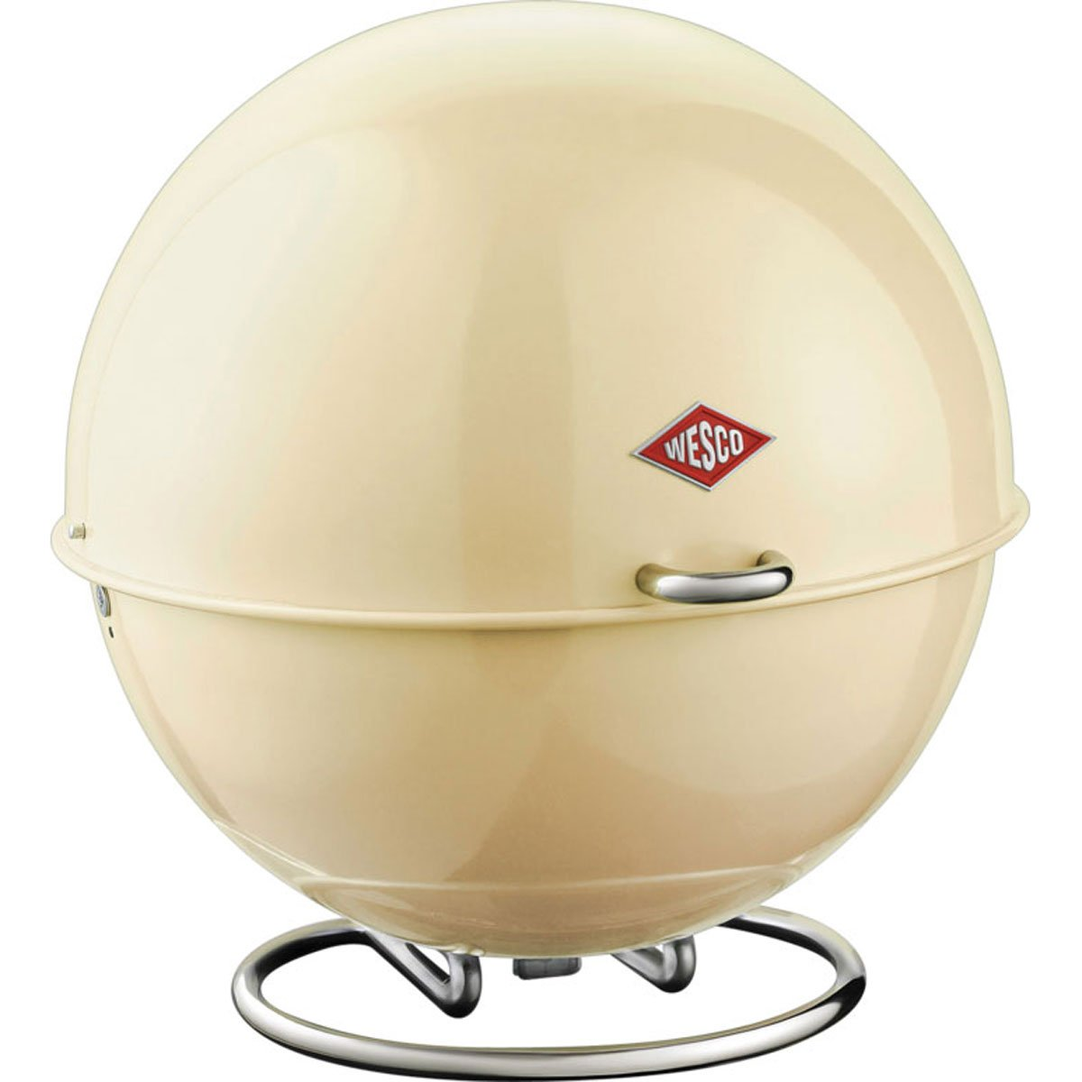 ウェスコ(Wesco) アーモンド サイズ:∅26×H26cm ブレッドボックス SUPERBALL 223101-23   B007TTA8GQ