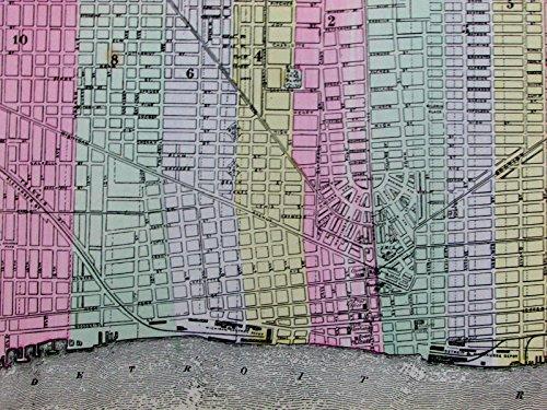 Street Old House (Detroit Michigan city plan