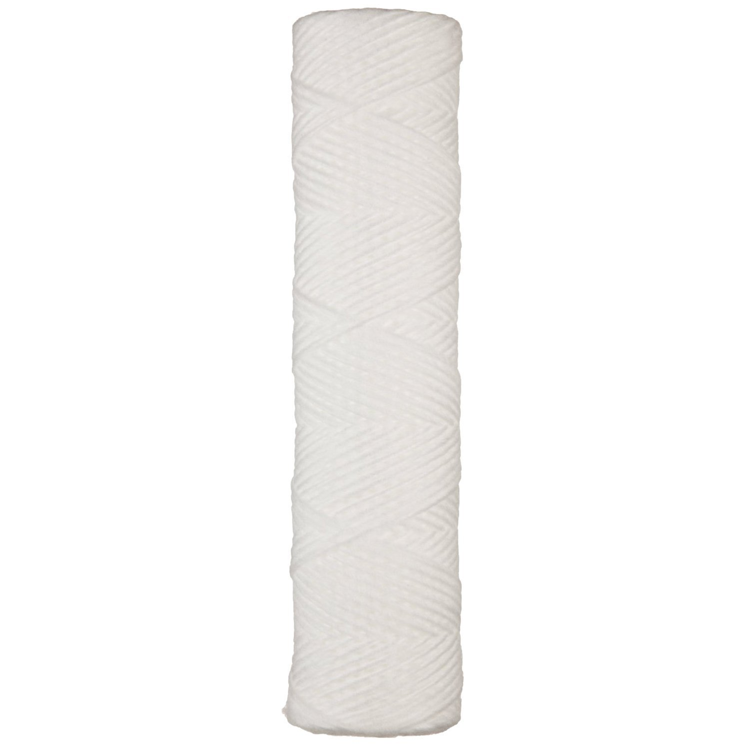 Parker 39R30S Fulflo Honeycomb Filter Cartridge, String Wound, Cotton FDA Grade Medium and 316 Stainless Steel Core, 1'' ID, 2-7/16'' OD, 30-3/16'' Length, 1 Micron (Pack of 6)