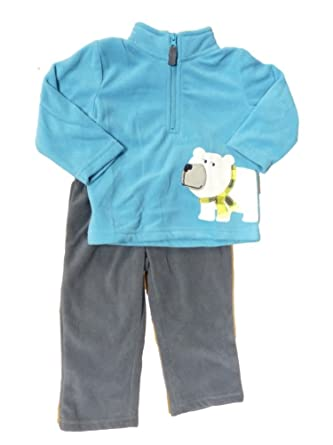 5f9060e82 Amazon.com  Carter s Infant Boys Fleece Polar Bear Outfit Sweater ...