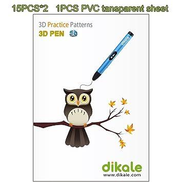 Amazon De 3d Stift Papierform Schablonen Fur 3d Druckstift 3d