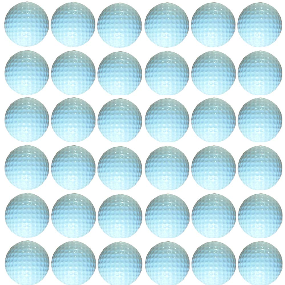 Dsmile White Foam Golf Practice Balls - 36 Pack | Light Soft Elastic Training Multifunction Sport Balls by Dsmile