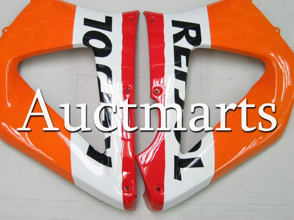 P//N:1i3 Auctmarts Injection Fairing Kit ABS Plastics Bodywork with FREE Bolt Kit for Honda CBR929RR CBR 929 RR 2000 2001 Orange Red White Black Repsol