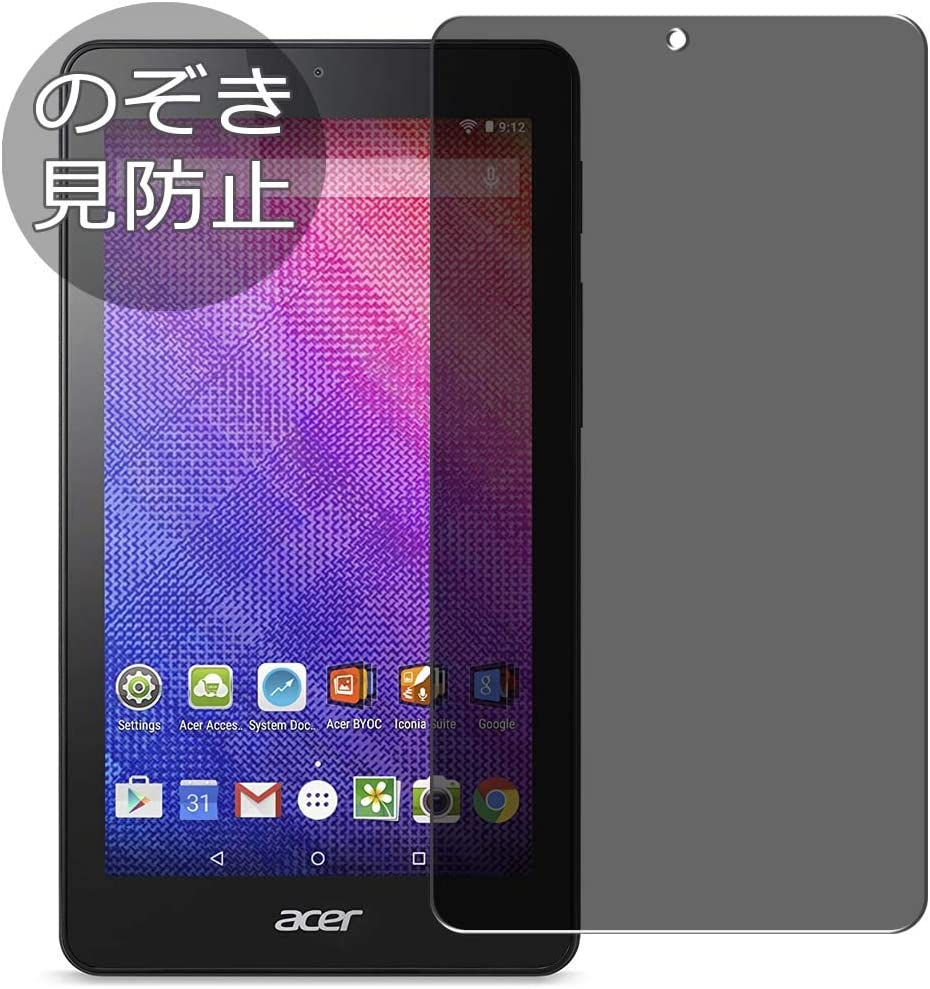 "Synvy Privacy Screen Protector Film for Acer Iconia One 7"" B1-760HD 0.14mm Anti Spy Protective Protectors [Not Tempered Glass]"