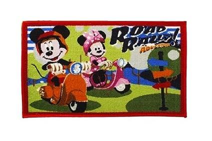 Tappeti Per Bambini Disney : Tappeto per bambini bambini tappeto multicolore con minnie e