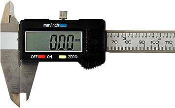 Digitaler Edelstahl Schieblehre LCD Digital Präzisions Messschieber Part 150mm
