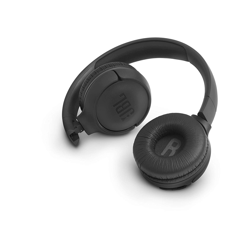 Auriculares supraaurales inal/ámbricos con conexiones multipunto y asistente de voz Google now o Siri JBL Tune500BT negro bater/ía de 16 h