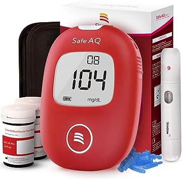 Medidor de glucosa en sangre - Safe AQ Smart - Kit de control de diabetes Kit de prueba