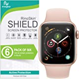 (6-Pack) Apple Watch 40mm Screen Protector (Series 6 5 4 SE) RinoGear Case Friendly iWatch Screen Protector for Apple Watch S