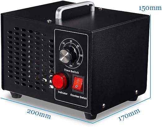 Oz3 Generador de ozono Comercial, 3500 MG/h Purificador de Aire O3 ...