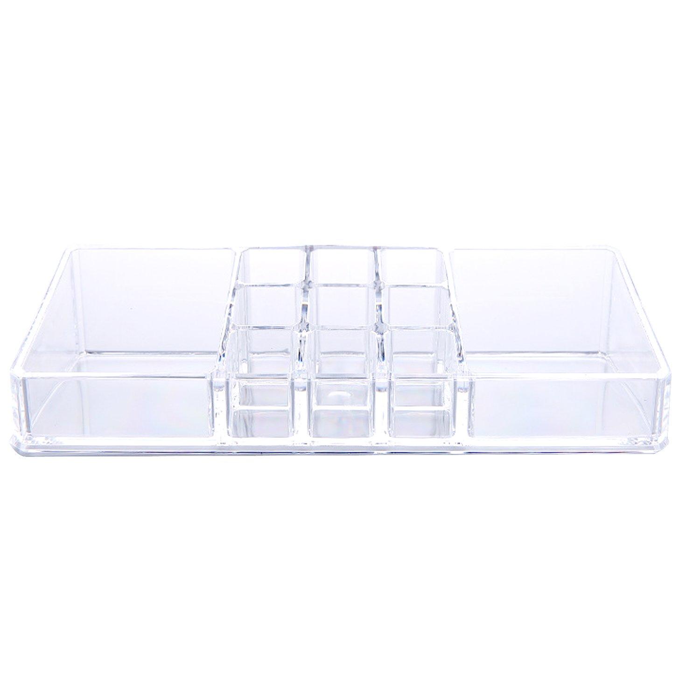 Acrylic Cosmetic Makeup Holder Storage Box for Lip Gloss Perfume Nail Polish Cream Lotion Organizer Elisona