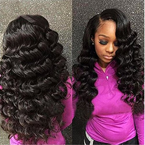 Price comparison product image UR Meili Mink Brazilian Virgin Hair Loose Wave Wet And Wavy Virgin Brazilian Hair Weave 4 Bundles Aliexpress Brazilian Loose Wave Hair(12 14 16 18 inch)