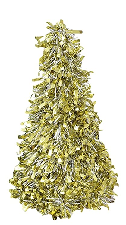Tinsel Christmas Tree.Amazon Com 10 Tinsel Christmas Trees In Green Red Or