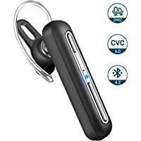 Mpow Bluetooth Headset, V4.2 Bluetooth Headset in Ear, 16 Stunden Spielzeit, Freisprech Autos, Dual-Mikrofon-Rauschunterdrückung, Bluetooth Headset für iPhone, iPad, Samsung, Sony, Huawei, Laptop.