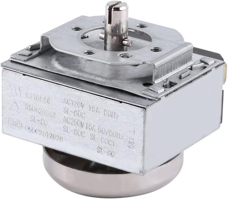zhoul Interruttore del Timer del Controller del Forno Resistente alle Alte Temperature da 1 a 60 Minuti per Forno a microonde elettronico