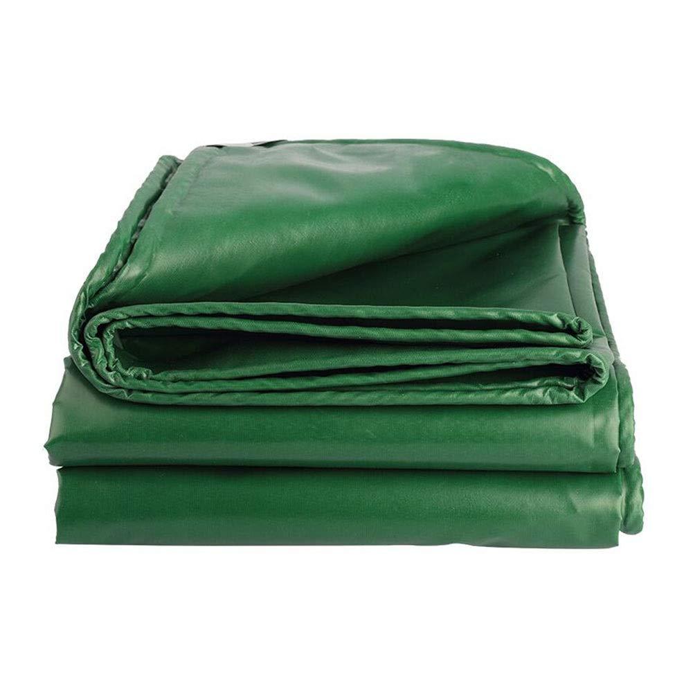 vert 5×6m Dall BÂche épaissir Double Face étanche Camping en Plein Air Couverture D'ombre 480g   M² 0.4mm D'épaisseur Multi-Taille (Couleur   vert, Taille   2×3m)