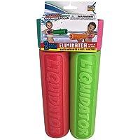 Max Liquidator The Eliminator Blaster Super Soaker Water Gun Safe Foam Noodles Pump Action 2 Pack - Colors Vary
