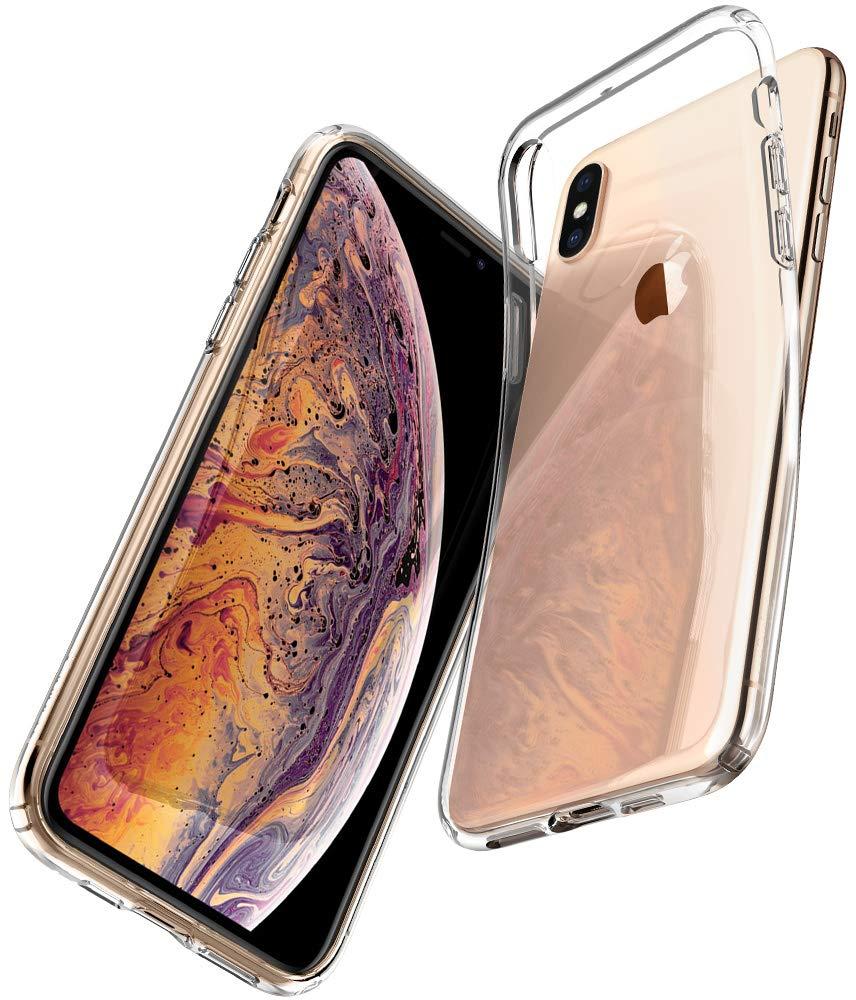 Funda Spigen iPhone Xs Max [crystal Clear] Liquid Crystal