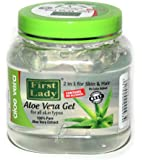 First Lady Aloe Vera Gel 500ml - 100% Pure Aloevera Extracts - For Skin & Hair