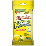 Universal Wipes Toallas desinfectante Húmedas Clenadex Limón para Superfices (120 Toallitas Húmedas)