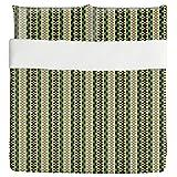 Not Just Stripes Duvet Bed Set 3 Piece Set Duvet Cover - 2 Pillow Shams - Luxury Microfiber, Soft, Breathable