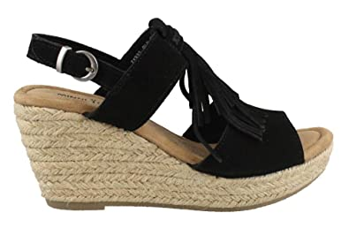 Minnetonka Womens Ashley II Wedge Sandal 540dfe8217