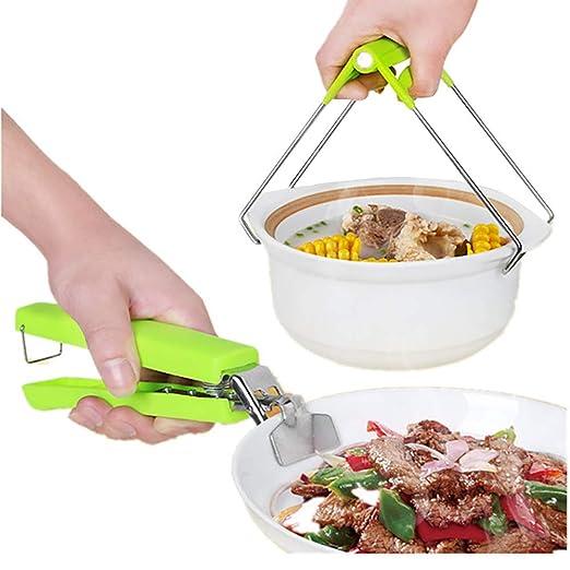 Clip para platos calientes de cocina,LHZTZKA anti-calientes para ...