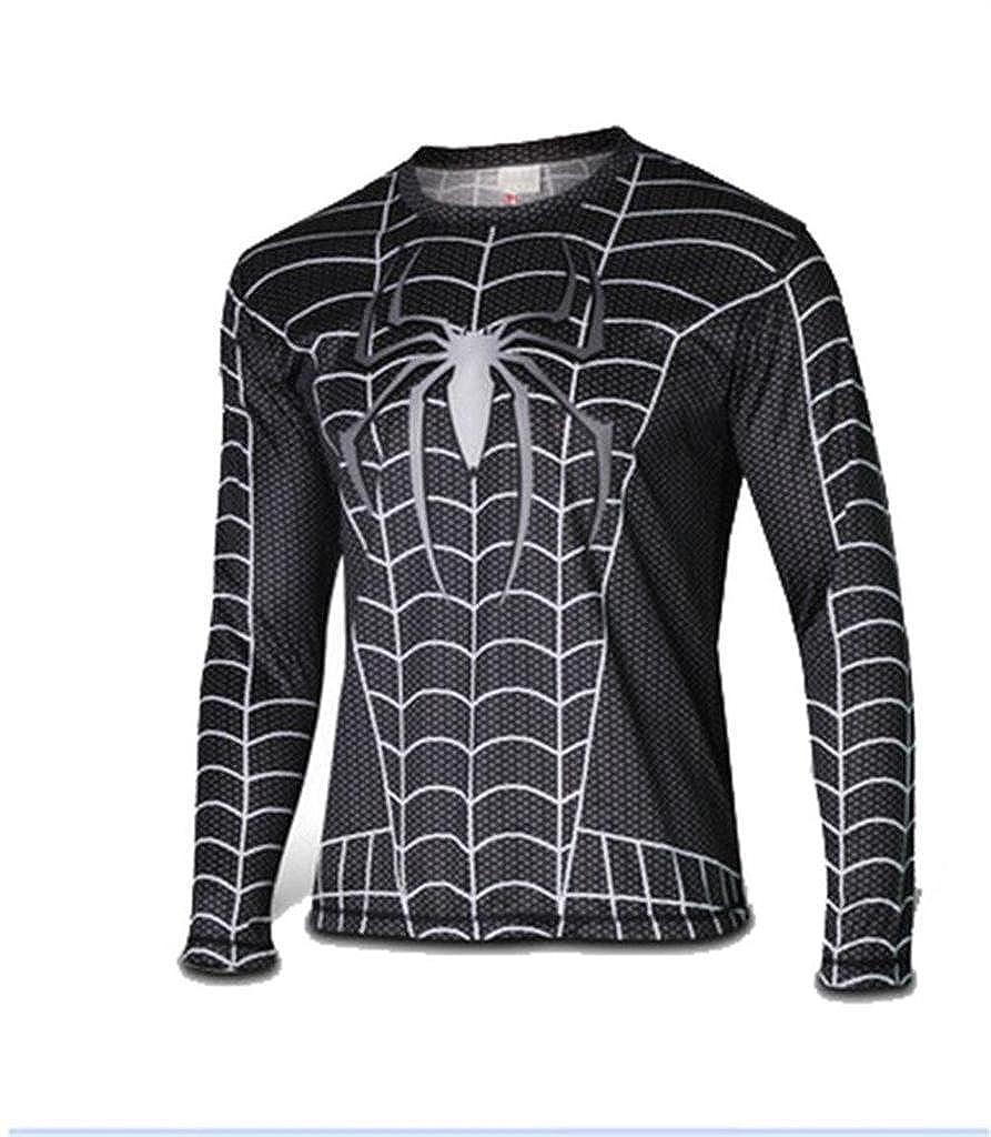 Fashion-Club Men's Spilder-Man T-Shirts