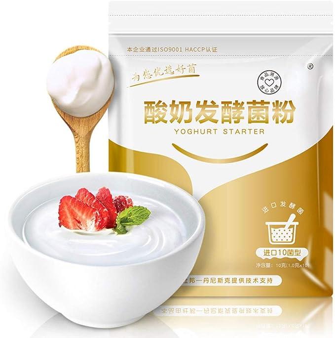 Yogurt Starter Interaction Yogurt Power Power Utensilios de Cocina para Yogurt Tradicional, por Supuesto: Amazon.es