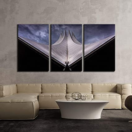 Amazon Com Karola Canvas Painting 3 Piece Grand View Of Modern