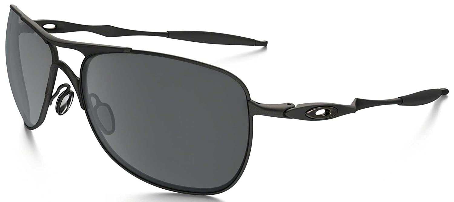0bfcd4bf69 Amazon.com  Oakley Crosshair Sunglasses-Matte Black Black Iridium  Shoes