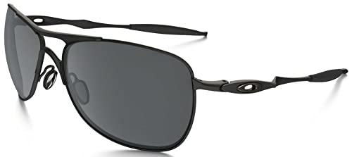 amazon com oakley crosshair sunglasses matte black black iridium shoes rh amazon com