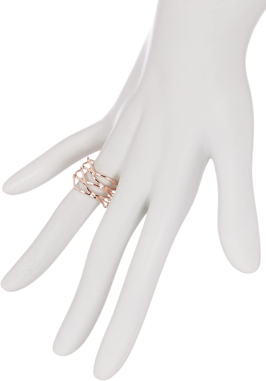 Gemaholique Rose Gold Clad Handmade Wire Ring