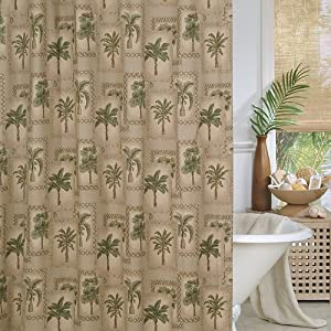 6100voDF-3L._SS300_ 200+ Beach Shower Curtains and Nautical Shower Curtains