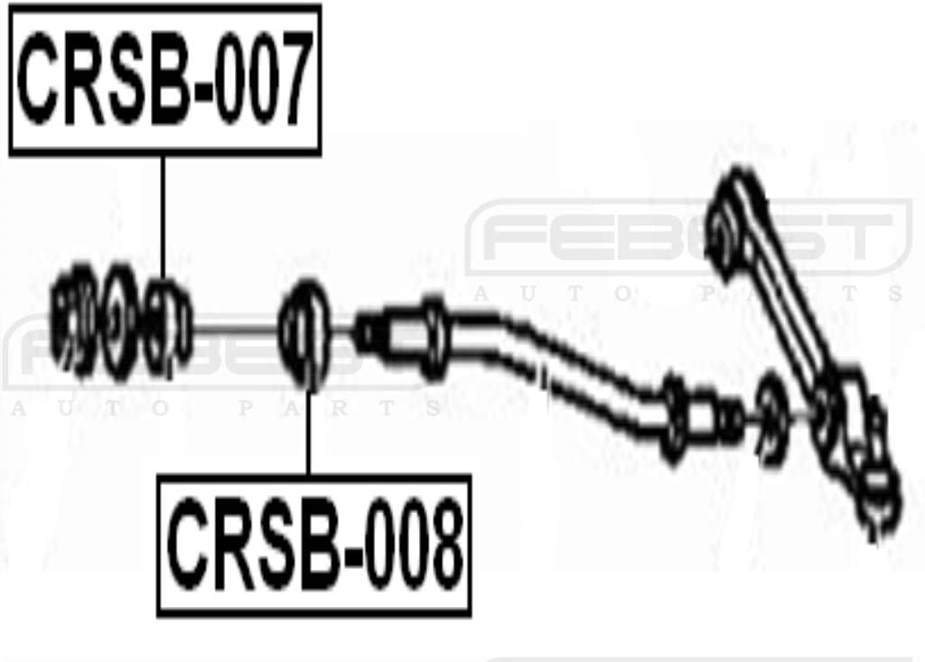 Cushion Strut Bar Febest # CRSB-007