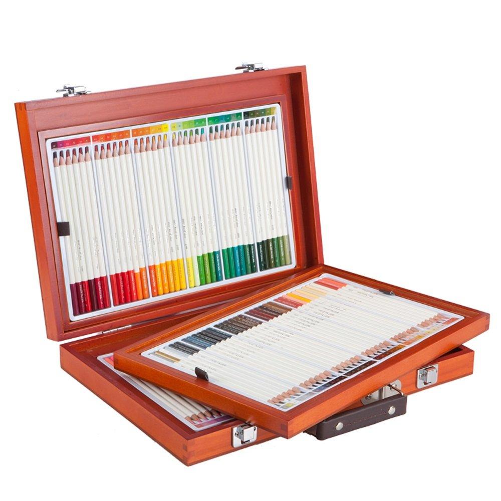 アート用品72/108色鉛筆または子供用の学校用品の色鉛筆セット - 鮮やかな色のプレミアムアーティストソフトシリーズリード (Color : 108) B07DK7MSF4 108
