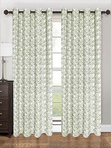 (Kashi Home Emma Collection Window Treatment/Curtain/Panel 55