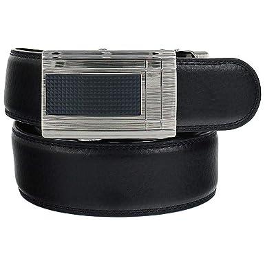 47f6f9f49ef9d Herren Raster Automatik Gürtel schwarz Automatic Belt black G242   Amazon.de  Bekleidung