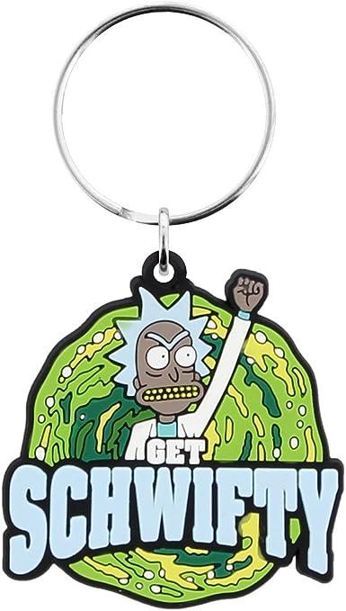 GB Eye LTD, Rick and Morty, Get Schwifty, Llavero: Amazon.es: Hogar